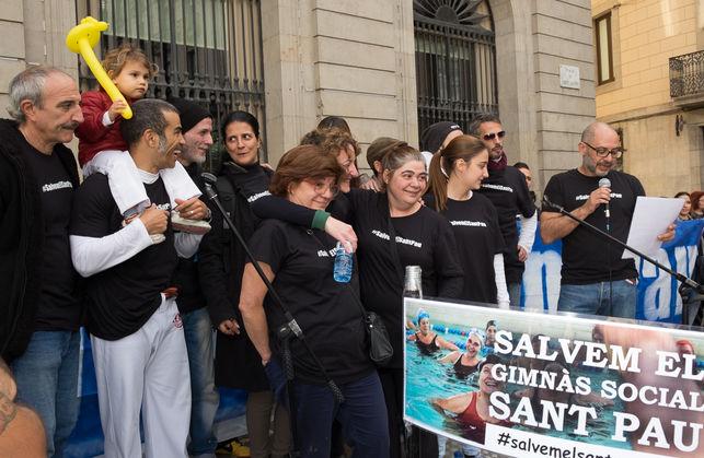 #SalvemelSantPau consiguió movilizar a cerca de 40 entidades y centenares de vecinos